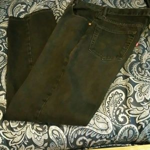Levi Black Relaxed Fit Jeans